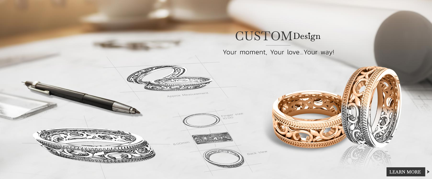 Custom Design Jewellery At Stearns Showcase Jewellers